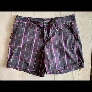 Columbia Plaid Bermuda Short